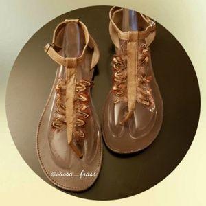 Torrid Sandals, Size 12W. EUC